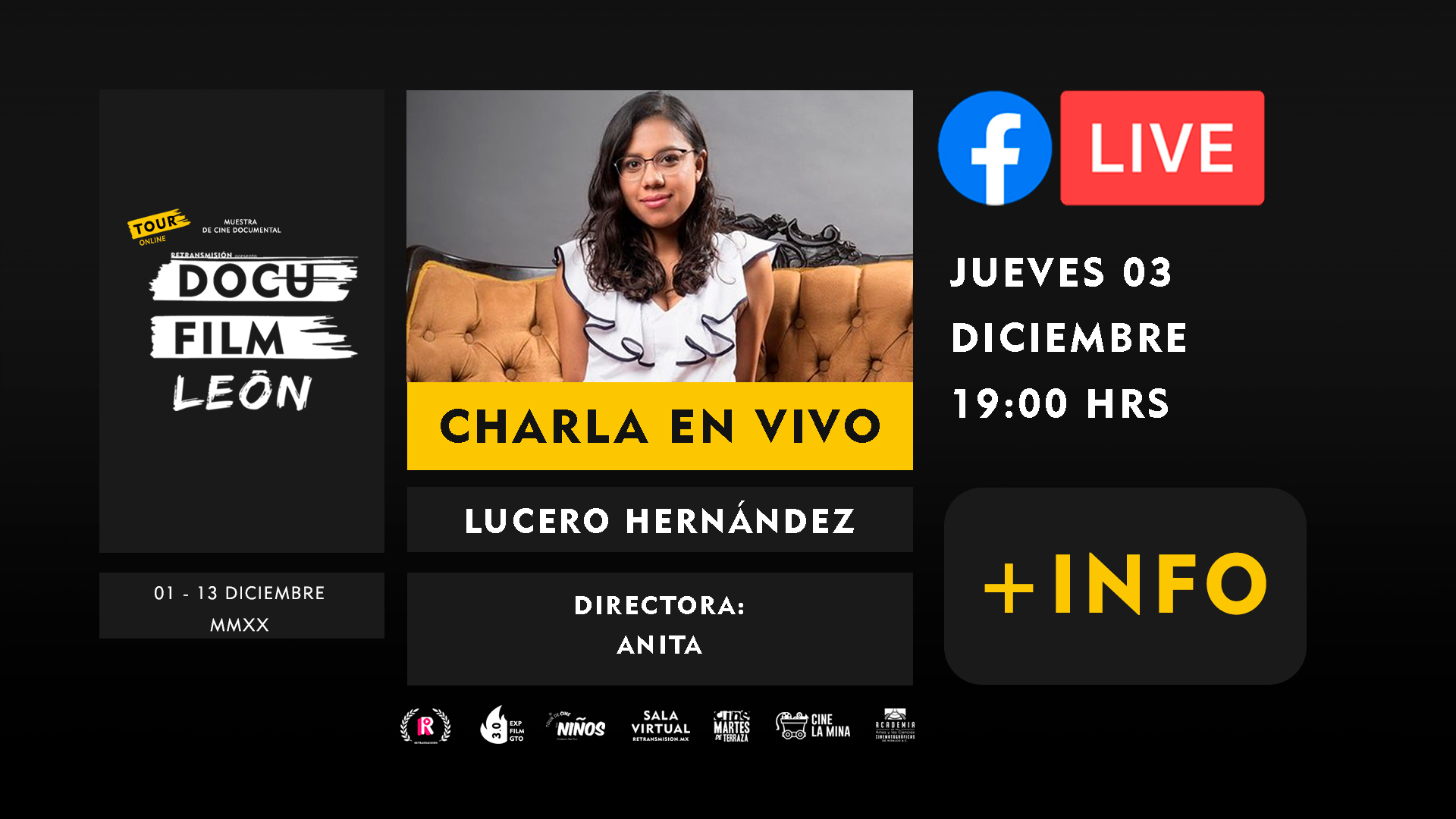 DIRECTORES-charlas+LUCERO-HERNANDEZ-DOCU-FILM-LEON-HORIZONTAL