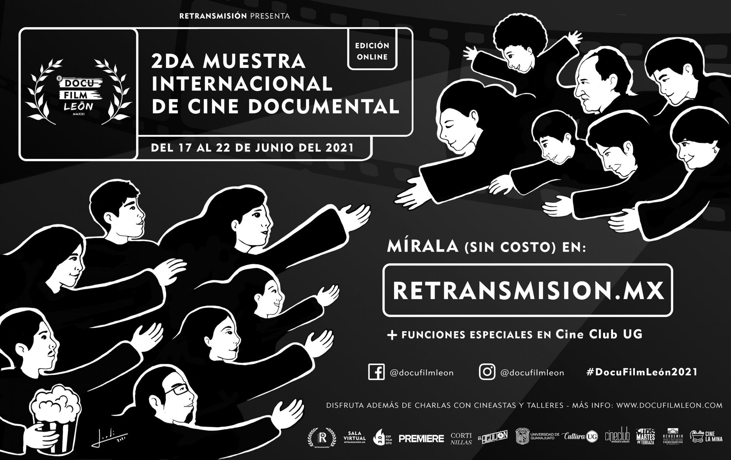 POSTER-PORTADA-COMPLETA-RETRANSMISIÓN-DOCU-FILM-LEON-2021